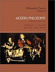 Philosophic Classics - Volume III (4th ed.)