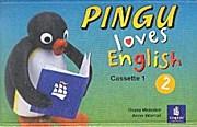 Pingu Loves English Level 2,  2 Cassettes