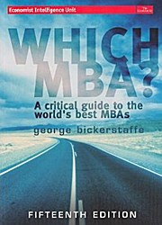 Which MBA? (15th Edition)