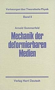 Mechanik der deformierbaren Medien