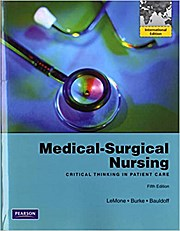 Medical-Surgical Nursing, International Edition [Taschenbuch] by LeMone, Pris...