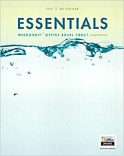 Essentials: Microsoft Excel 2003 Comprehensive by Fox, Marianne B.; Metzelaar...