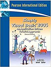 Simply Visual Basic 2005 by Deitel, Harvey M.