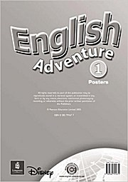 English Adventure: Poster Level 1 [Poster] by Worrall, Anne