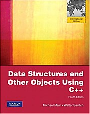 Data Structures and Other Objects Using C++ [Taschenbuch] by Main, Michael; S...