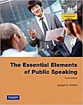 The Essential Elements of Public Speaking [Taschenbuch] by DeVito, Joseph