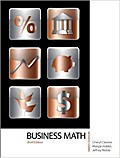 Business Math, Brief Edition by Cleaves, Cheryl S.; Hobbs, Margie; Noble, Jef...
