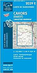 Cahors (Ouest) / Labastide-Marnhac: IGN2039E (Ign Map)