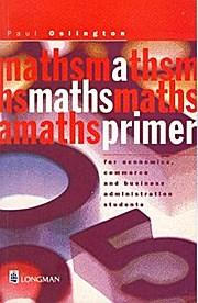 A Maths Primer for Economics