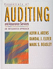 Essentials of Auditing and Assurance Services