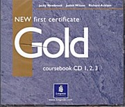 New First Certificate Gold coursebook CD 1,2,3