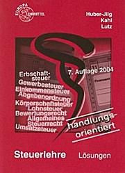 Steuerlehre Lösungsbuch