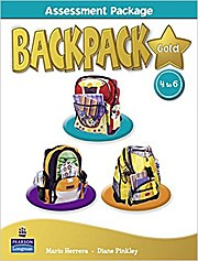 Backpack Gold Assessment Book & M-ROM 4-6 N/E pack [Spiralbindung] by Pinkley...