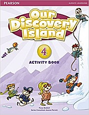 Our Discovery Island Level 4 Activity Book (Pupil) Pack [With CDROM] by Bedda...
