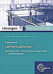 Lösungen Arbeitsbuch Rechtsanwalts- und Notarfachangestellte