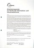 Arbeitstransparente zur Fachkunde Informations- und Industrieelektronik