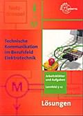 Technische Kommunikation im Berufsfeld Elektrotechnik Lösungen