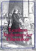 Lexikon bedeutender Chemiker